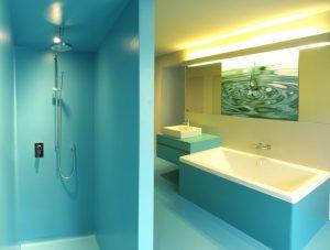 Wohnung Basel, Badezimmer, Produkt: AI DO