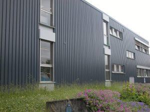 Industrie-Fassade, Produkt: Spaceline Aqua