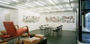 Ausstellungsraum, vorne / Blick in die Ausstellung «Carte Blanche V: Miller & Maranta», 2008/04 © Bild: Ruedi Walti