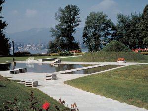 «Garten des Poeten» von Ernst Cramer © Schweizerische Stiftung für Landschaftsarchitektur SLA, Rapperswil