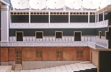 Valerio Olgiati Diplom ETHZ 1985/86 Theatre Neuchâtel