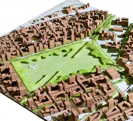 Aus Pisten werden Boulevards: Der Flugplatz Dübendorf als Stadtzentrum   © Architektengruppe Krokodil