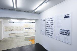 Blick in die Ausstellung «Ulrich Müther. Schalenkonstruktionen», 2008/03 © Bild: Dominic Ott